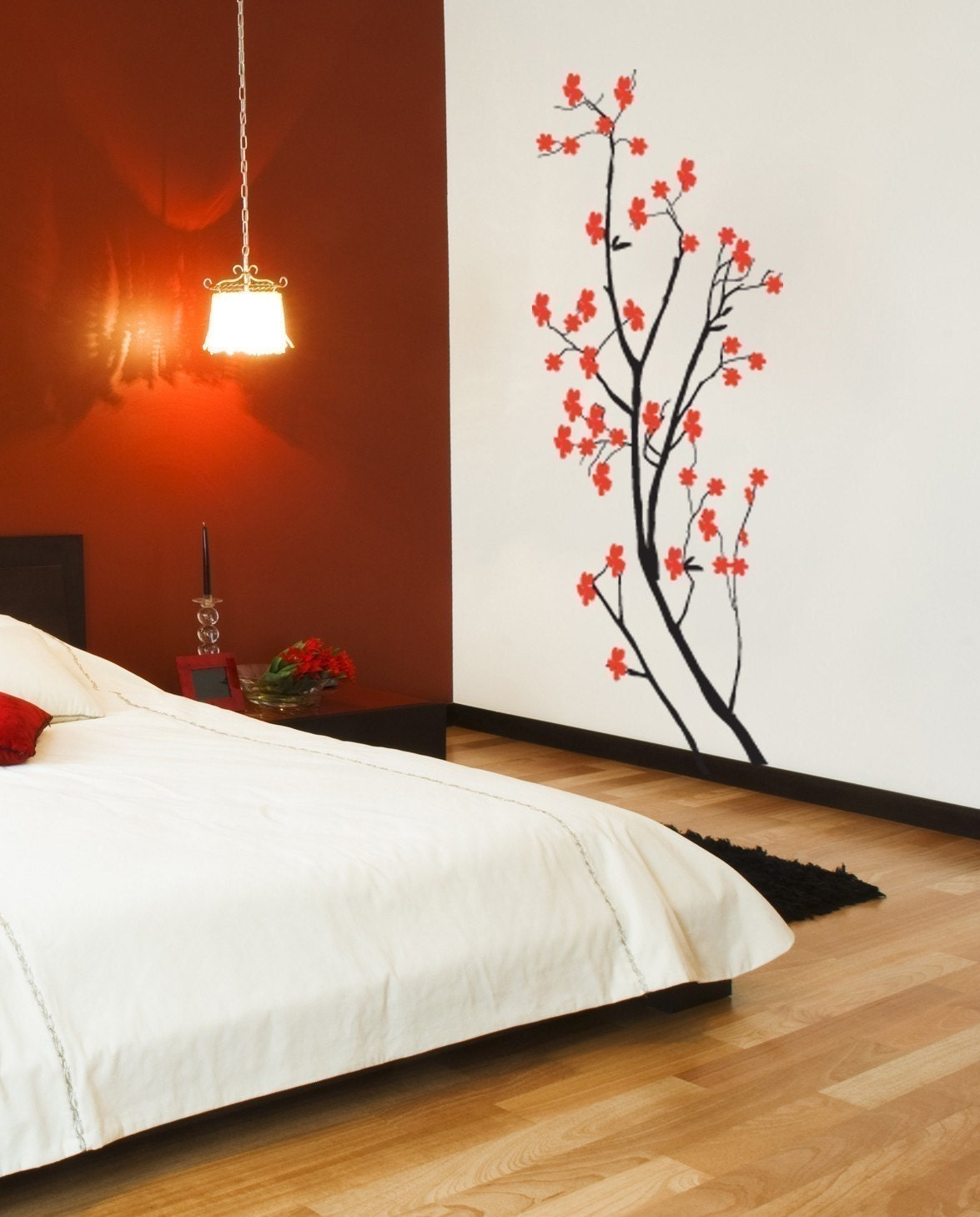 Wall Decal Japanese Cherry Blossom Wall By