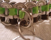 Small Pet Collar for Dogs and Cats Tab Tops Top Ten Finalist in the Art of ReUse Contest  As seen on the Today Show