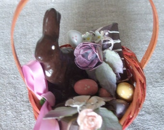 Easter Basket No Calorie Easter Basket Sweet Treats SALE 25% off