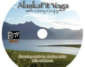 AlaskaFit Yoga DVD with Ginny Grupp RYT-200   FREE SHIPPING in U.S.