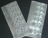 Aluminum numbers  7, 6, 3