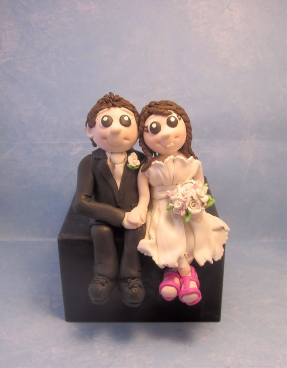 Bride and Groom  Cake topper for Gruiselahernandez1
