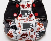 One size newborn Ooga Booga cloth diaper