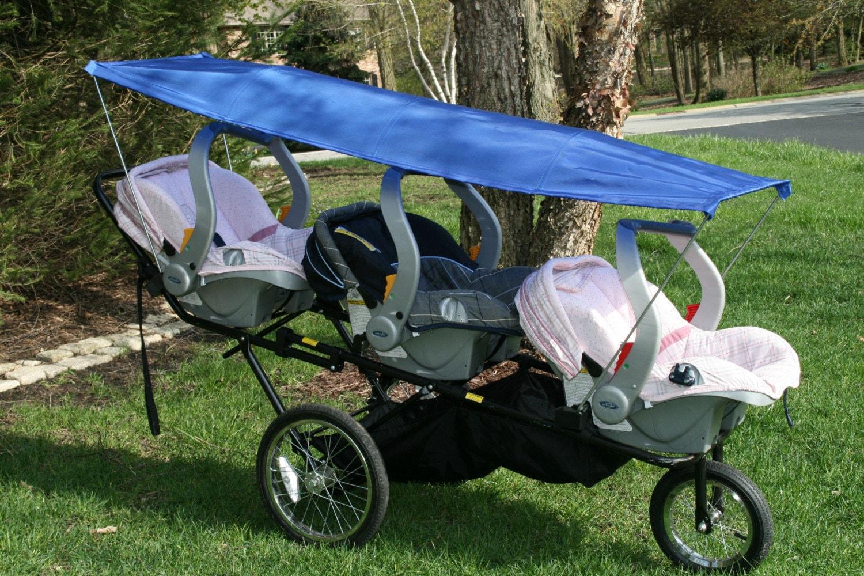 sun canopy for the triple decker stroller