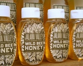 RESERVED FOR KETTLECONFECTIONS: 5 One Pound Wild Sage Raw Unfiltered Honey