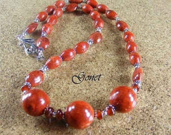 Sponge Coral Necklace (Coral Reef Collection)   by Gonet Jewelry Design