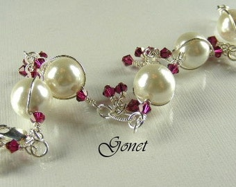 South Sea Shell Pearl Bracelet (South Sea Pearl Collection)  by Gonet Jewelry Design