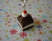 Hot Fudge Cake Cell Phone Charm