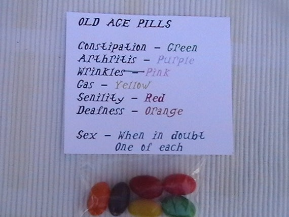 Old Age Pills