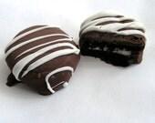 Oreo Turtles - Chocolate dipped Oreos with Caramel
