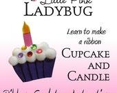 Ribbon Sculpture Instruction - Cupcake