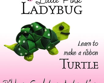 Ribbon Sculpture Instruction - Turtle