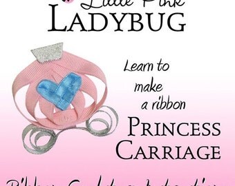 Ribbon Sculpture Instruction - Princess Carriage Instructions