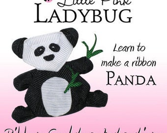 Ribbon Sculpture Instruction - Panda