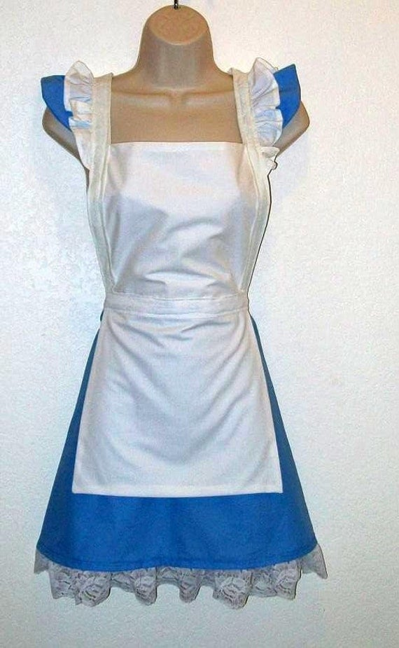 Alice In Wonderland Apron Pictures to Pin on Pinterest