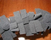 Reusable washable 4 layer polar fleece duster refills  for Swiffer Pledge ruler systems Spring cleaning  Earth Day!