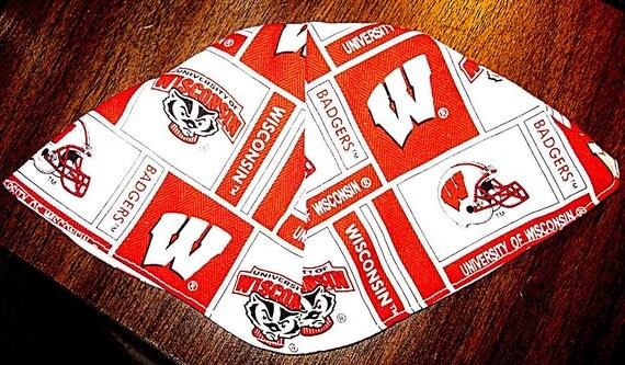 University of Wisconsin Badgers kippah or yarmuilke