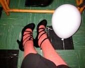 Sophia Kokosalaki for Nine West cage strap mary jane heels size 9