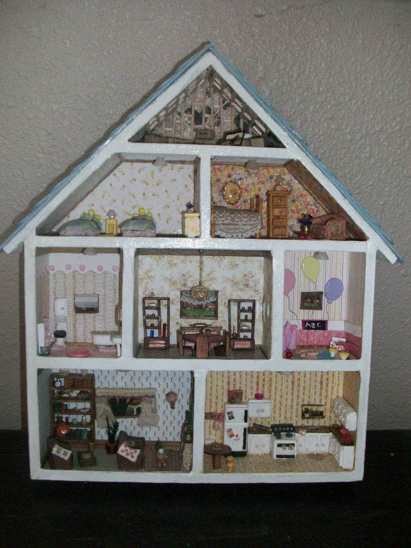 Miniature Shadow Box Dollhouse