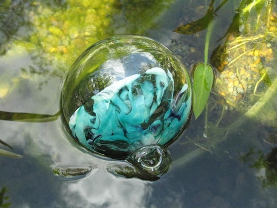 Unusual artisan made koi pond ball for Koi pond maker