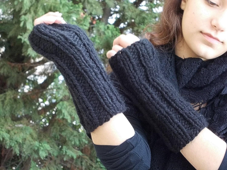 Modele tricot mitaines sans doigts - Comment tricoter des mitaines avec doigts ...