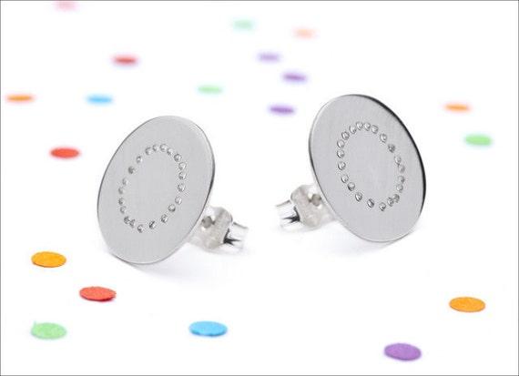 Confetti earrings