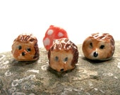 Three Wee Hedgehogs - made to order