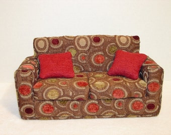 Doll Sofa, Modern Style fits 11 1/2  Inch Fashion Dolls