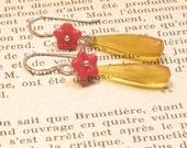 Drops of Honey earrings