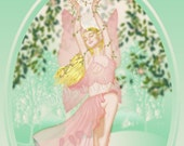 Spring's Fancy Fairy---5x7 print