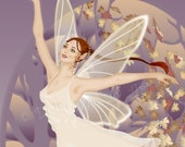 Autumn's Dance 5x7 Fairy Print