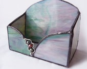 Stained Glass Card Holder - Sweet Pea