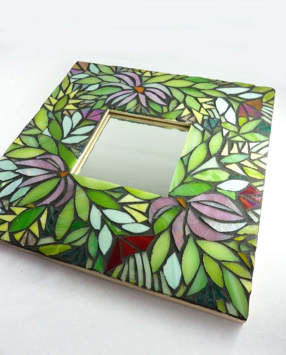 Mosaic Mirror - Midnight Garden