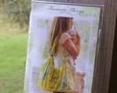 Mama Mia Diaper Bag & Change Pad pattern by Favorite Things - DESTASH