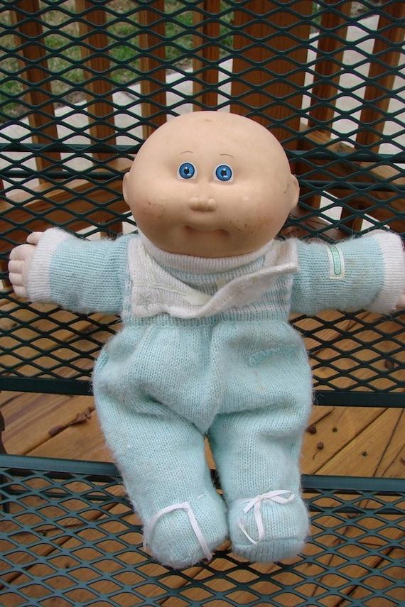 sale sale sale vintage 1980s cabbage patch preemie boy doll. Black Bedroom Furniture Sets. Home Design Ideas