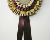Blume- Handmade Award Ribbon