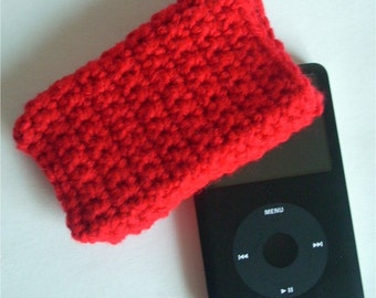 iPod Cozy in Red