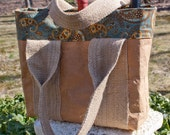Paper Bag Tote Bag - HuzzahHandmade