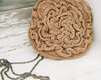 The small round rose purse PDF pattern