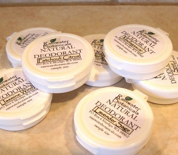 Sample all 8 scents of our world famous deodorant