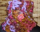 Knitted  Neckwarmer Cowl Scarflette  SOUTHWEST TRAIL
