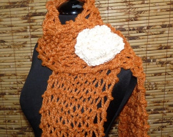 Lena Hand Knitted Scarf