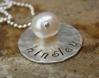 ONE  wish - handstamped by SimaG