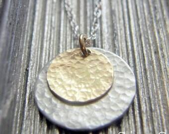 Ani ledodi Vedodi Li - I am my beloved's and my beloved is mine - Hand Stamped Jewelry  -SIMAG