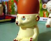 Vintage English Bear Egg Cup