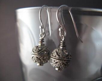 Petite Art Deco Style Rhinestone Earrings