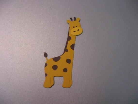 Giraffe Die Cut Paper Piecing