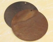 Vintaj Large Round Blank, 34 MM,  2 pc. V34