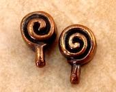Mykonos Casting Spiral Bail, Bronze 2-Pieces M91
