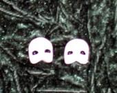 Phantom of the Opera Mask Stud Earrings